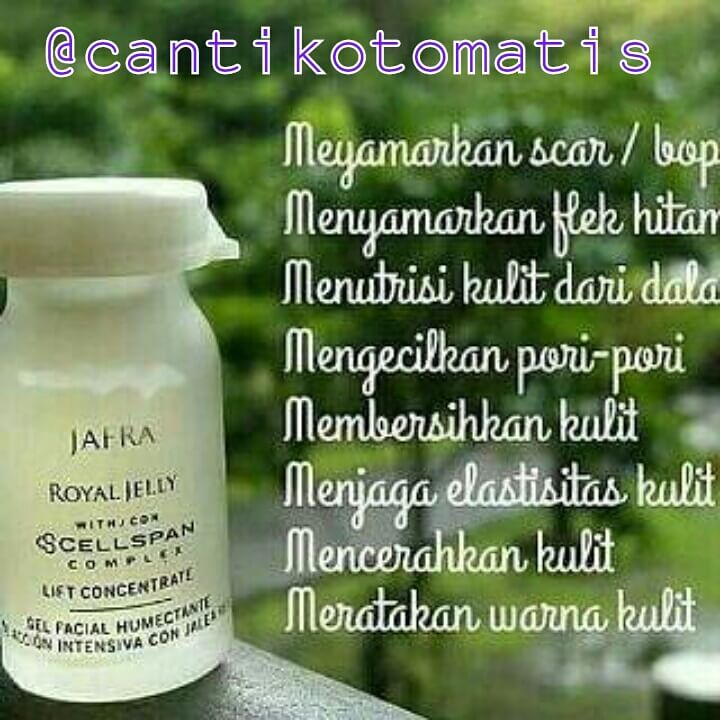 jual serum royal jelly Jafra di Pontianak
