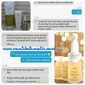 jual serum royal jelly Jafra di Batu